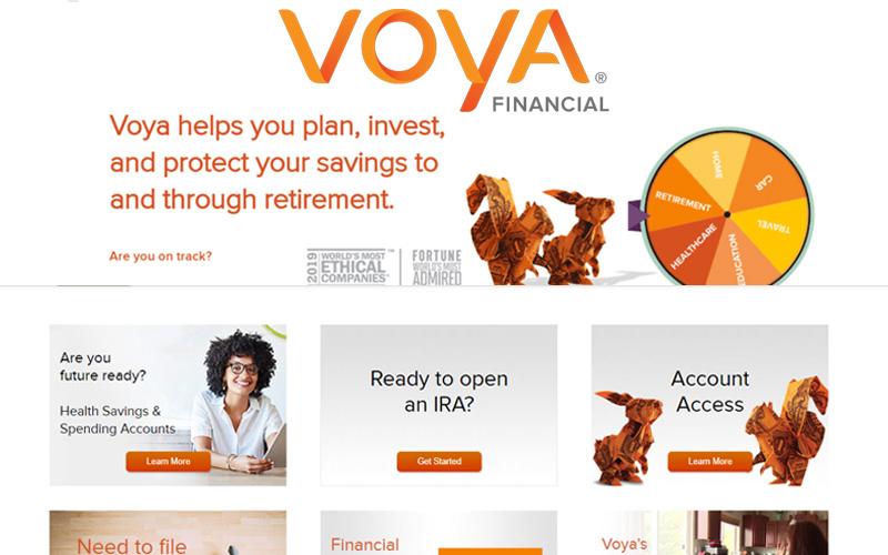 VOYA - VOYA  Investments Financial Insurance | VOYA Login