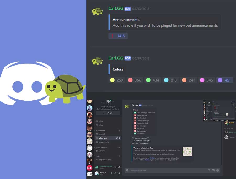 Carl Bot – Carl-Bot Dashboard  | Carl Bot Discord