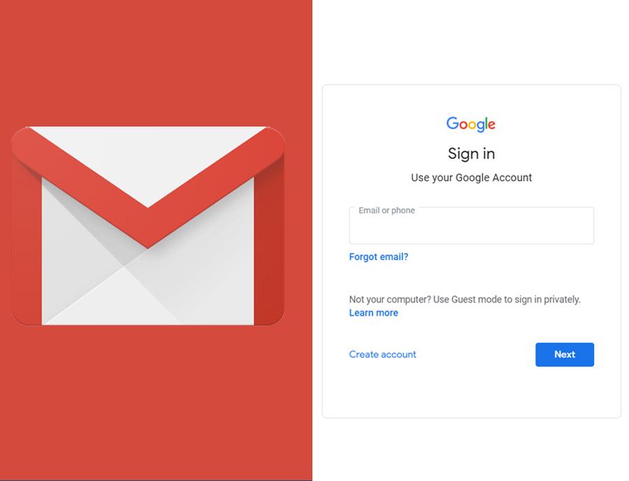 Gmail Login - Log into Gmail Account on Gmail.com   Gmail Login Mail