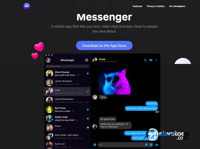 Facebook Messenger App Messenger App Free Download Messenger App For Facebook Mstwotoes
