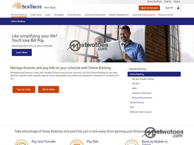 SunTrust Online Banking – How to Set up SunTrust Online Banking | SunTrust Online